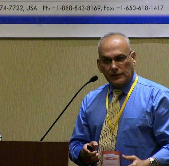 Dr Raman Puri presenting LAI